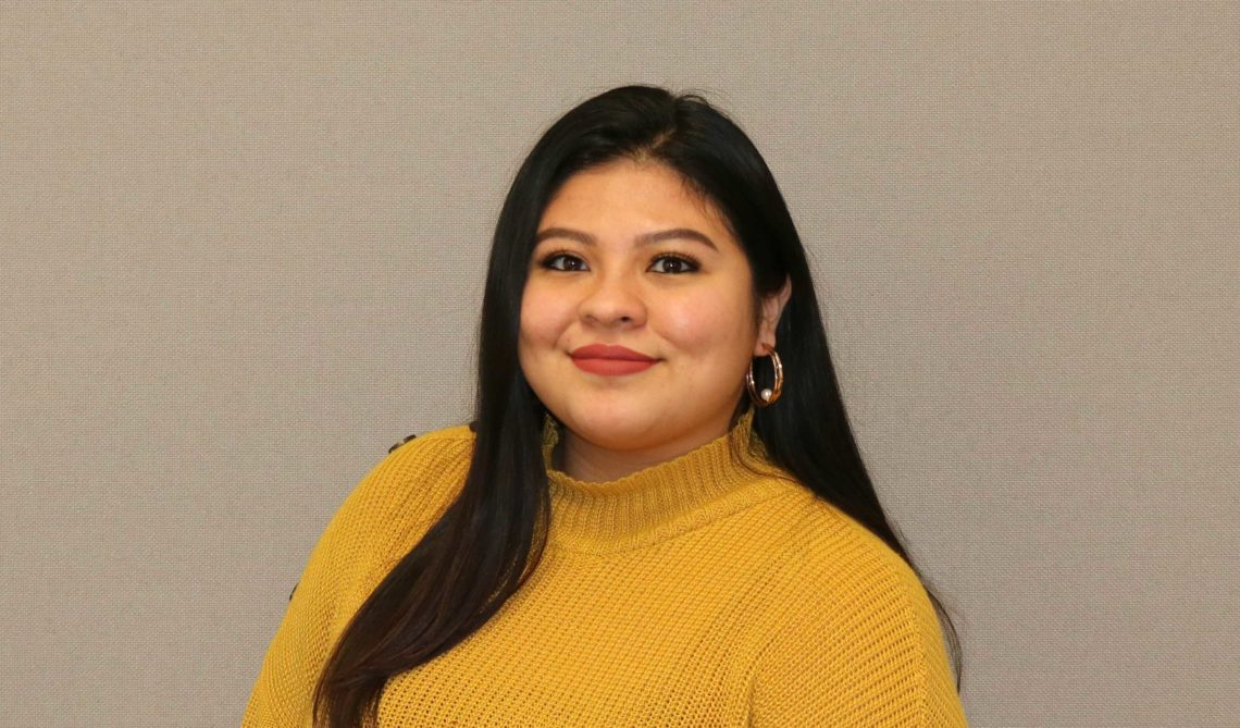 Scholars Latino Initiative mentor Jessica Discua-Aguilar